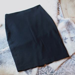 Banana Republic Stretch Knit Suiting Pencil Skirt